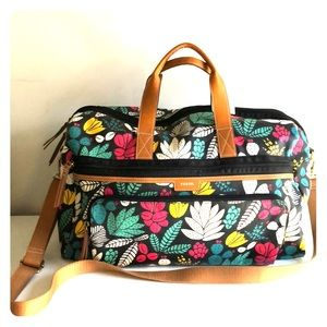 FOSSIL ELIZA FLORAL DUFFLE